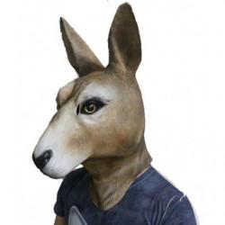 Walibi Kangaroo Maske - Känguru Maske