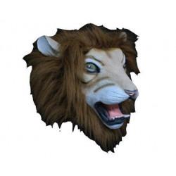 Löwenmaske - Loewe mit offenem Maul