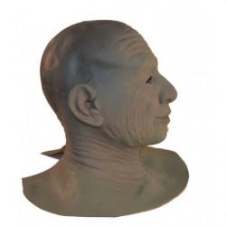 Realistische Maske Gesicht mit Falten