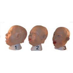 Maske Baby Gesicht Babymaske