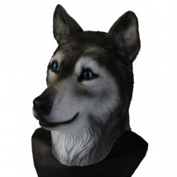 Maske Hund Husky