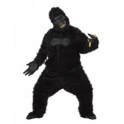 Gorilla Kostüm mit Ani Motion Affen Gorilla Maske