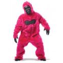 Gorilla Affenkostüm Pink