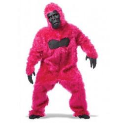 Gorilla Kostüm Pink -Rosa