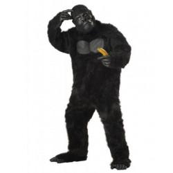 Gorilla Kostüm Schwarz Deluxe