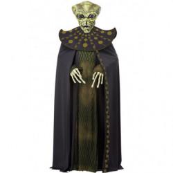 Alien Kostüm mit Ani-motion Maske