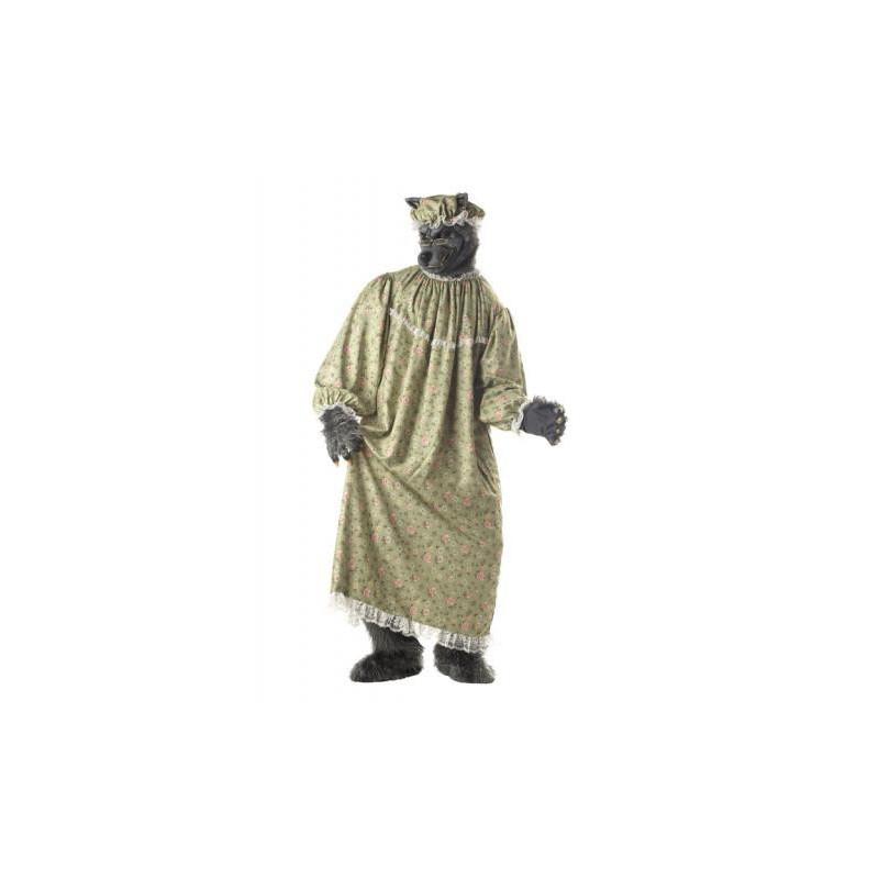 Böser Wolf Oma Kostüm