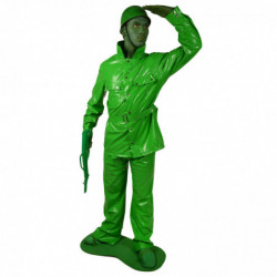 Plastik Spielzeugsoldaten Kostüm