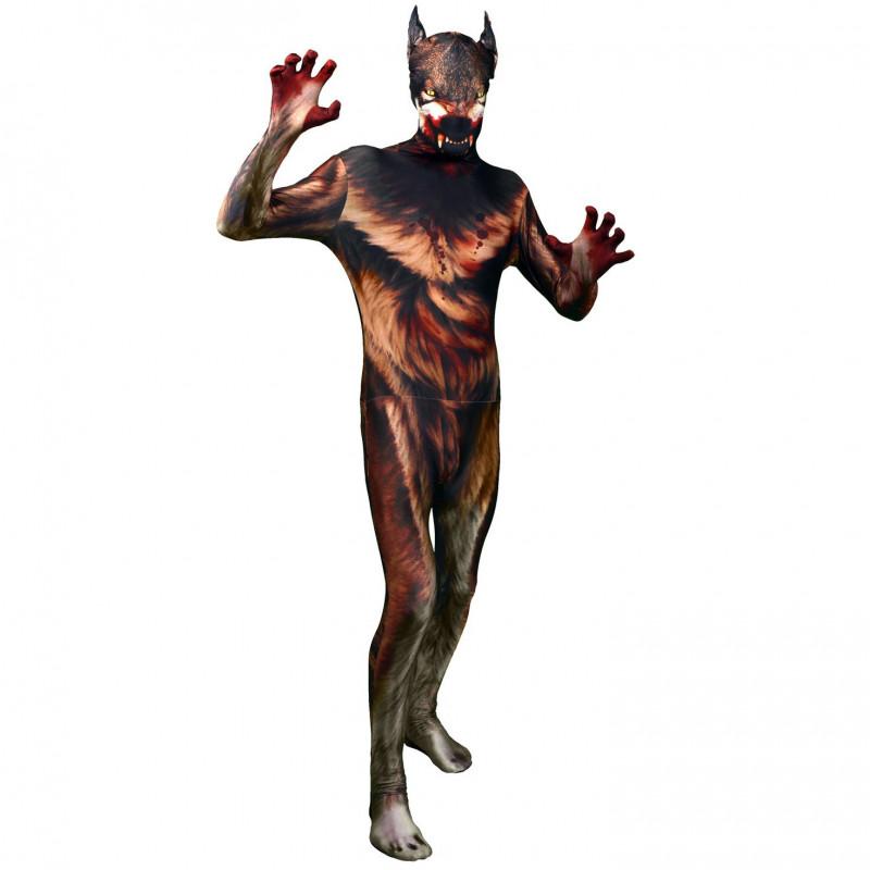 Werwolf Morphsuit Werwolf Kostüm