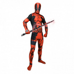 Deadpool Morphsuit Superhelden Kostüm