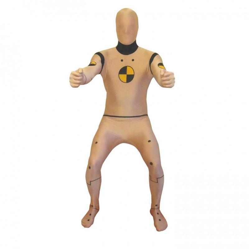 Crash Test Dummie Morphsuit für Erwachsenen