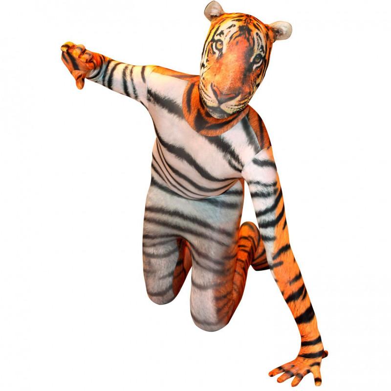 Tiger Morphsuit Ganzkörperanzug Erwachsenen