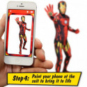 Ironman Morphsuit Superhelden Kostüm