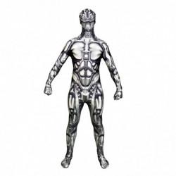 Android Roboter Morphsuit Ganzkörperanzug Erwachsenen