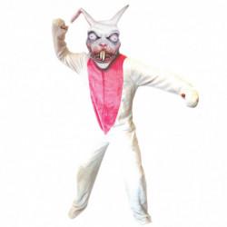 Das weisse Killer-Kaninchen Kostüm