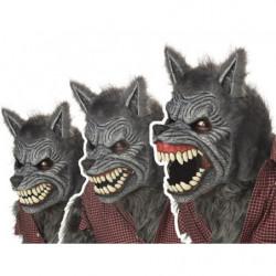 Ani Motion Horror Maske Werwolf