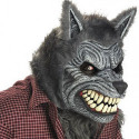 Ani Motion Horror Maske Werwolf