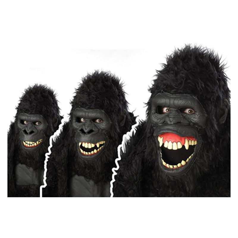 ANI-MOTION Affen Gorilla Maske GOIN APE