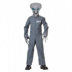 Kinder Alien Kostüm Eigentum von Area 51