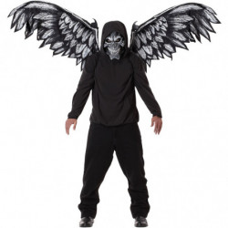 Halloween Kostüm Gefallene Engel mit Flügel