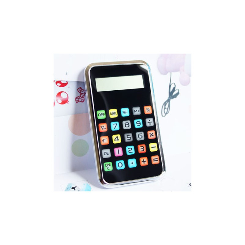 Solar Taschenrechner in Iphone Design