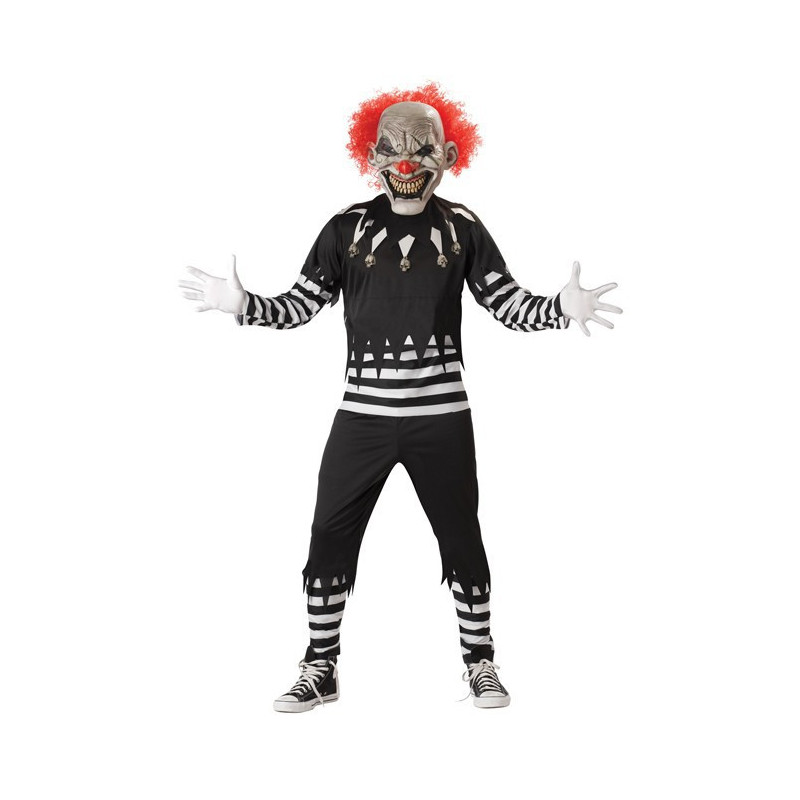 Böser Horror Clown Kostüm
