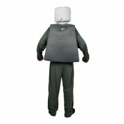 Mr. Block Zombie Lego Figur Kostüm