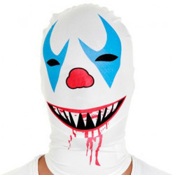 Morph Maske Killer Clown Morphsuit Maske