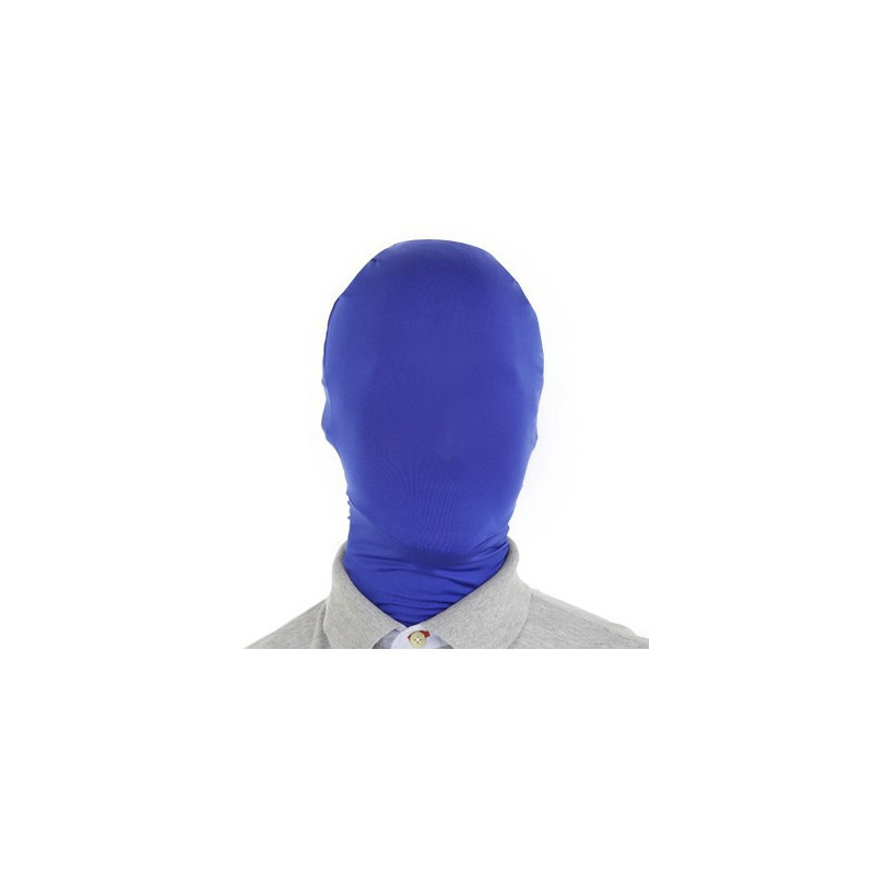 morph Maske Blau - Morphsuit Maske