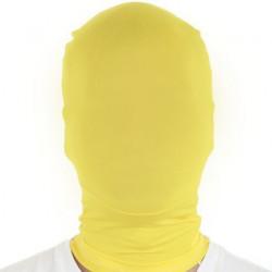 morph Maske Gelb - Morphsuit Maske
