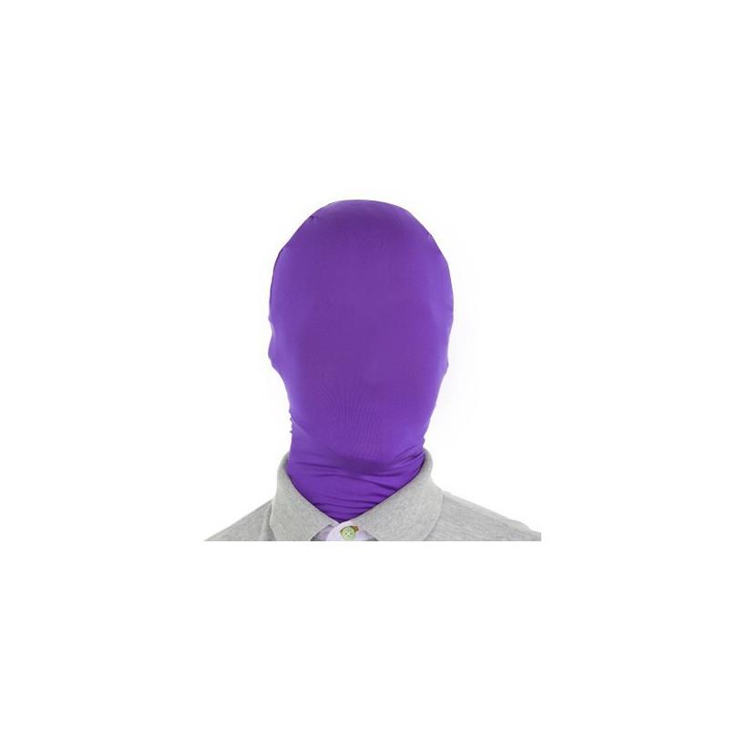 morph Maske Lila - Morphsuit Maske