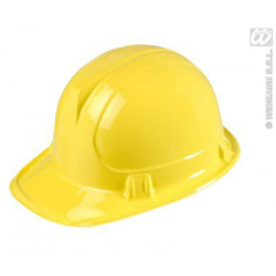 Bauarbeiter Helm gelb Karneval Fasching