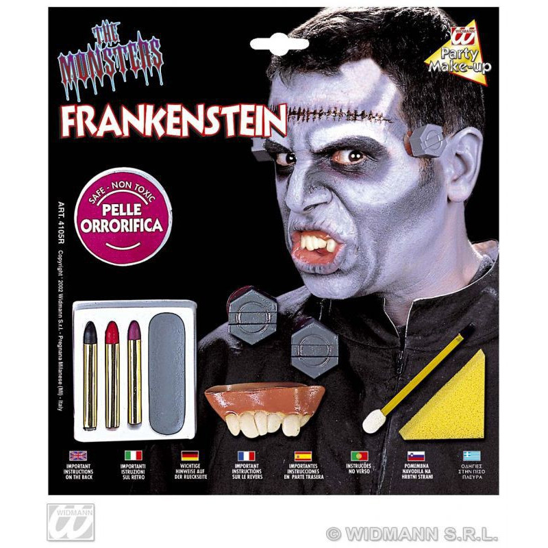 Make-up Set deluxe FRANKENSTEIN