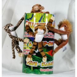 Magnet Dschungel  Plüschtiere