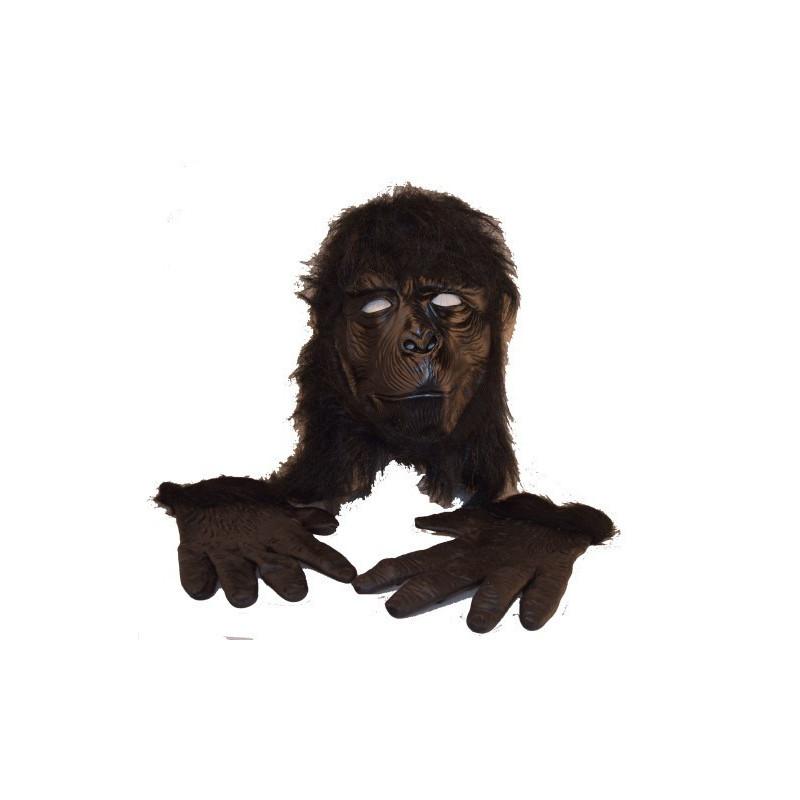 Gorilla Maske mit Hände