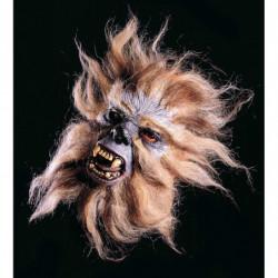 Affenmaske wütender Affe Halbmaske Tiermaske