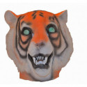Tiger Maske aus Latex