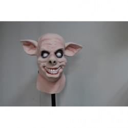 Horror Schweinemaske grinsender Sau