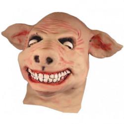 Schweinemaske grinsender Sau