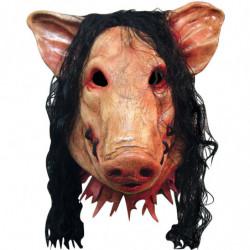 SAW Pig Maske mit dem zugenähtem maul
