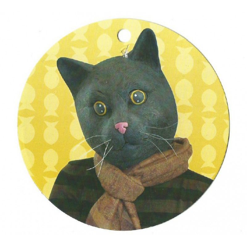 Schwarzer Kater Katzen Maske
