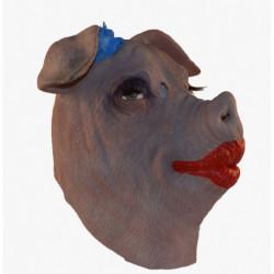 Lady Schwein Schweinemaske Schweiz