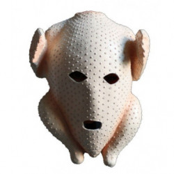 Truthahn brathähnchen Maske