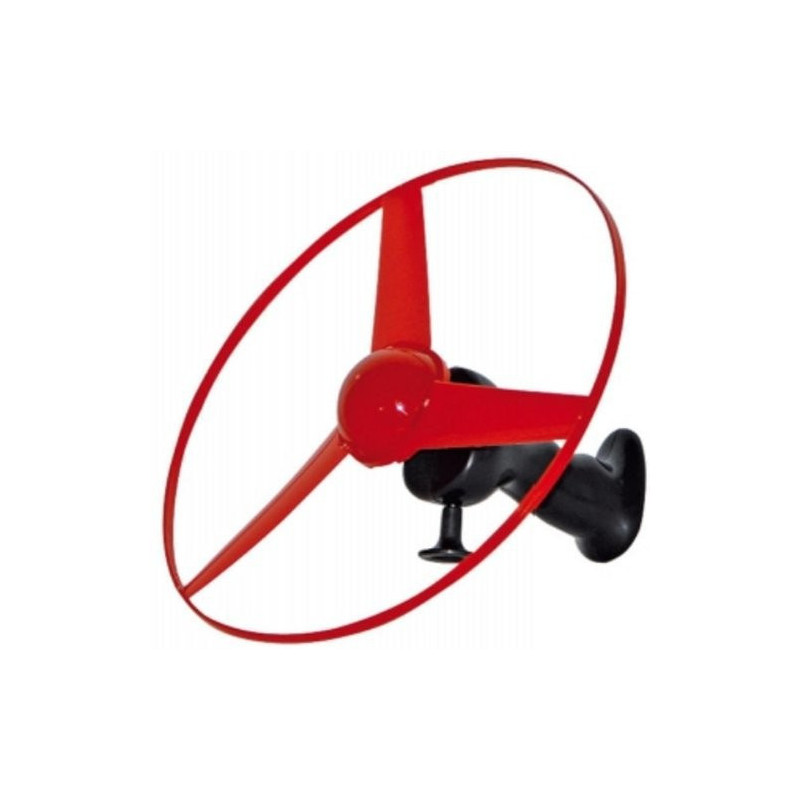 Handstart Hubschrauber mit Leuchtrotor