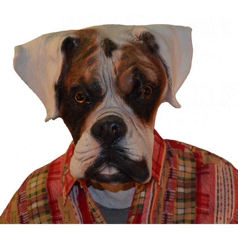 maske hund boxer gefleckt zyzy shop schweiz. Black Bedroom Furniture Sets. Home Design Ideas
