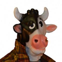Lustige Kuh Maske
