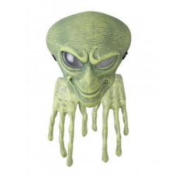 Alien Agent Maske mit Hände