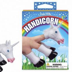 Fingerpuppe Einhorn Handicorn