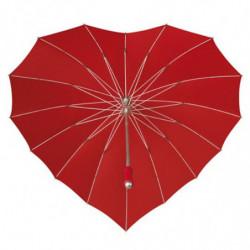 Herz Sonne oder Regenschirm in der Form eines Herzens