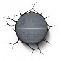 3D Star Wars Todesstern Wand Leuchte